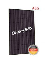AEG AS-M1202B-GH(G1) GLAS-GLAS 330W Mono Zwart Frame