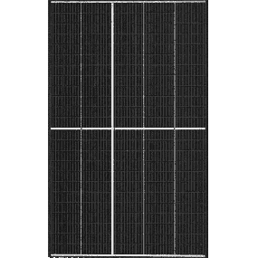 Trina Solar Vertex S Mono Perc395 W - Half-Cut (Black Frame)