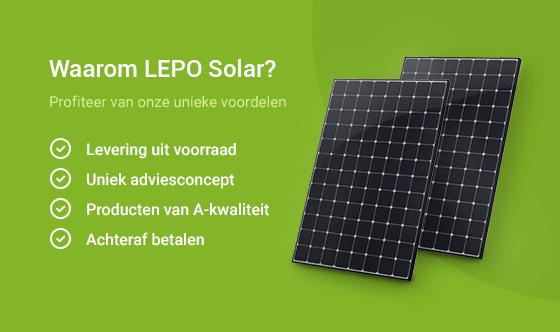 Voordelen zonnepanelen groothandel LEPO Solar